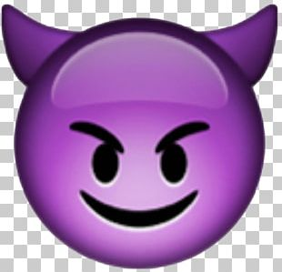 Emoji Devil Smiley Angel PNG