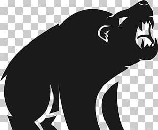 Gorilla Strength Training Drawing PNG