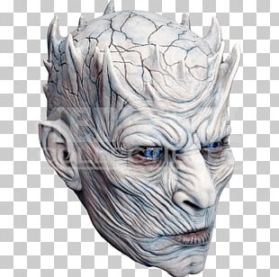 Night King Game Of Thrones Mask Halloween Costume White Walker PNG