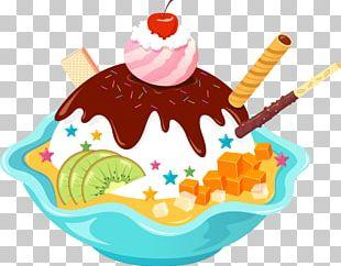Ice Cream Cones Sundae Cupcake PNG