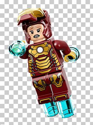 Pepper Potts Iron Man Lego Marvel's Avengers Lego Marvel Super Heroes Lego Minifigure PNG