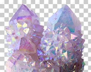 Quartz Crystal Healing Mineral Pastel PNG