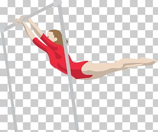 Artistic Gymnastics Horizontal Bar PNG