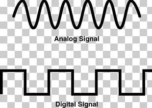 Digital Signal Processing Analog Signal Digital Data PNG