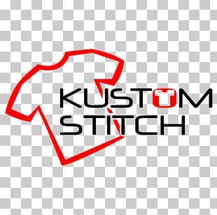 Logo White Rose Centre Kustom Stitch Brand Product PNG