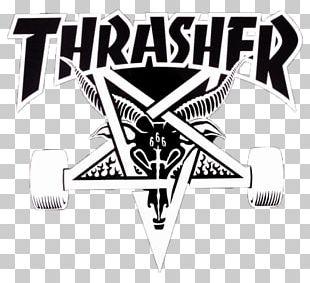 Thrasher Skateboarding Magazine Surfing PNG