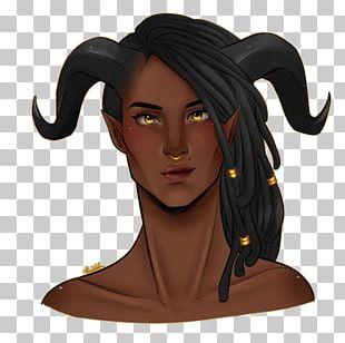 Brown Hair Character Cartoon Fiction PNG