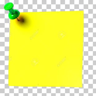 Paper Post-it Note Yellow Green Rectangle PNG