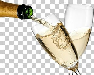 Serving Champagne PNG