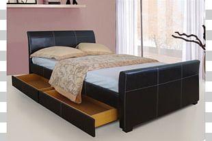 Bed Frame Mattress Bedroom Box-spring PNG