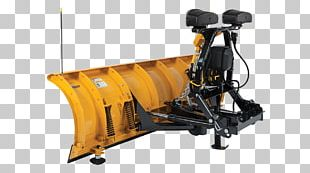 Fisher Engineering Snowplow Plough Snow Removal Machine PNG