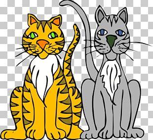 Persian Cat Kitten Cartoon PNG