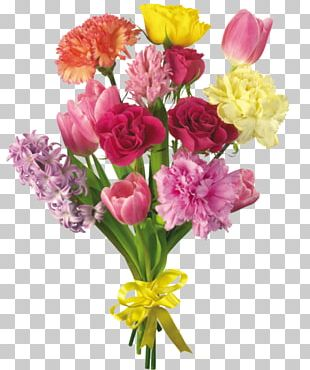 Flower Bouquet Cut Flowers Floristry Floral Design PNG