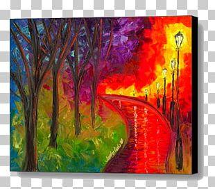 Acrylic Paint Modern Art Painting Visual Arts PNG
