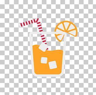 Ice Cream Orange Juice Cocktail Drink PNG