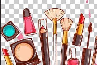 Lipstick Cosmetics Make-up Makeup Brush PNG