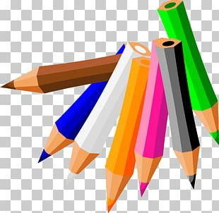 Pencil Plastic Writing Implement PNG