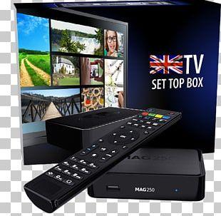 IPTV Set-top Box Over-the-top Media Services Infomir MAG254 Récepteur Multimédia Numérique PNG