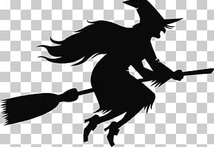 Witch's Broom Witchcraft Halloween PNG