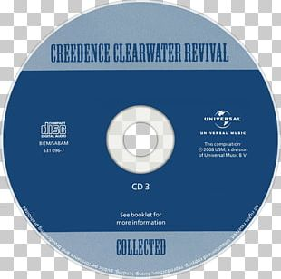 Compact Disc Creedence Clearwater Revival Music Collected PNG