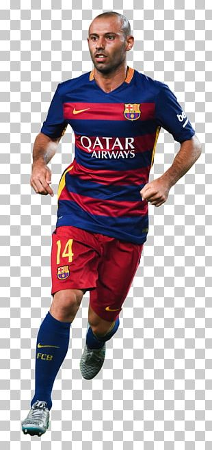 Javier Mascherano 2015–16 FC Barcelona Season Football Player PNG