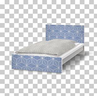 Bed Frame Mattress Bedside Tables Bed Base PNG