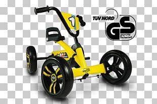 Go-kart Pedal Quadracycle Car Velomobile PNG