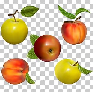 Juice Fruit Peach Apple PNG