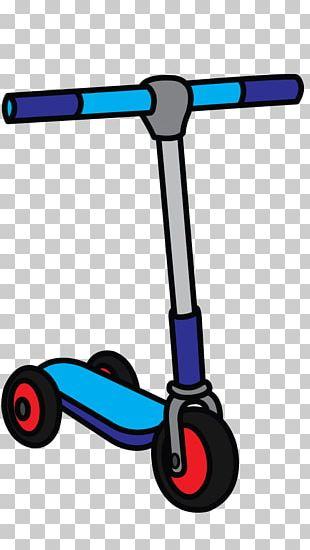 Kick Scooter How To Draw Vehicles Drawing How-to PNG