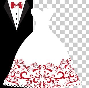 Wedding Invitation Bridegroom Wedding Dress PNG