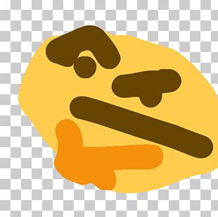 Emoji Emoticon Thought Smiley Sticker PNG