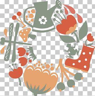 Garden Tool Cartoon Illustration PNG