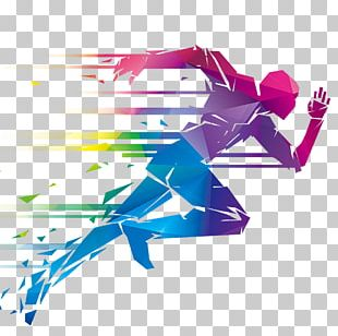 Running Illustration PNG