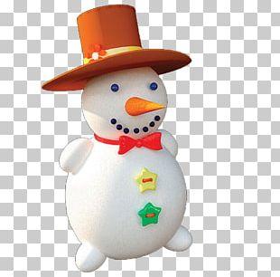 Snowman Hat Winter PNG