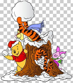 Winnie The Pooh Piglet Eeyore Minnie Mouse Tigger PNG