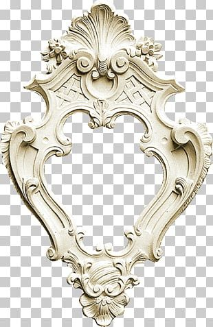 Wood Carving Mirror Frames PNG