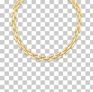 Earring Jewellery Necklace Chain Gold PNG