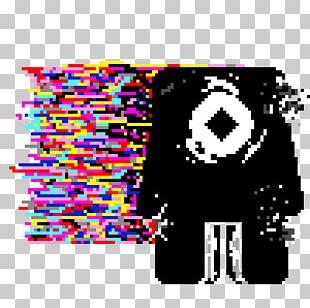 Glitch Pixel Art Graphic Design Digital Art PNG