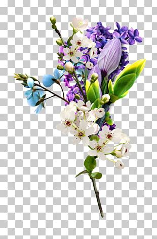 Flower Floral Design Lavender Purple PNG