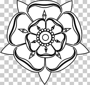 Tudor Rose White Rose Of York Drawing PNG