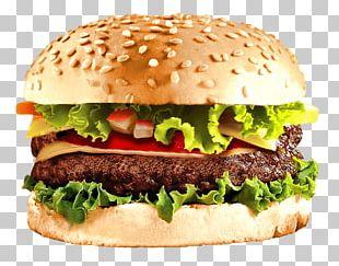 Hamburger Cheeseburger Fast Food Veggie Burger PNG