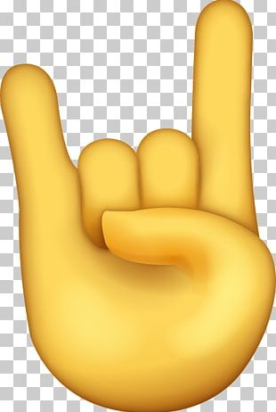 Sign Of The Horns Emoji Thumb Devil IPhone PNG