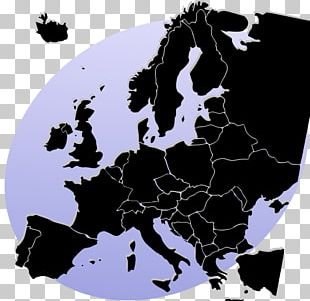 Early Modern Europe Blank Map Border PNG