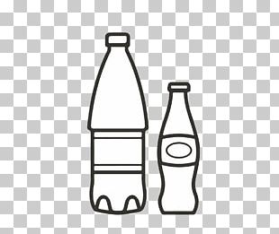 Soft Drink Carbonated Water Glass Bottle Mineral Water PNG
