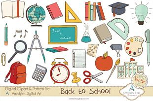 Stationery Paper School PNG