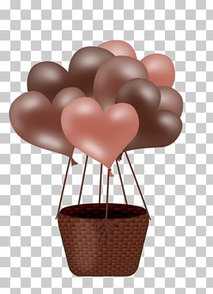 Balloon Valentines Day Heart PNG
