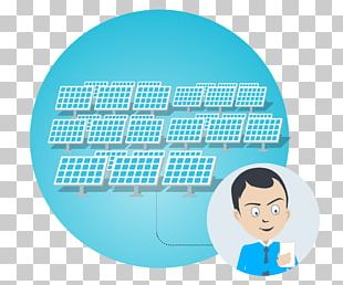 Solar Power Photovoltaic Power Station Smooth Plant Logo PNG