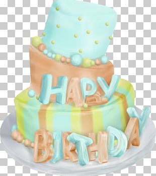 Birthday Cake Happy Birthday To You Balloon Gift PNG