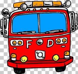 Car Fire Engine Firefighter Fire Department PNG
