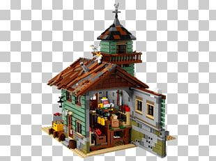Lego Ideas Amazon.com LEGO 21310 Ideas Old Fishing Store Toy PNG